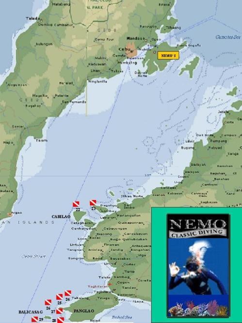 dive map A